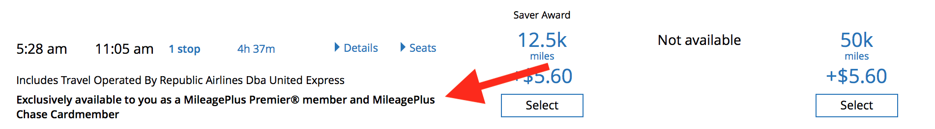 Expanded Award Availability With United Cards