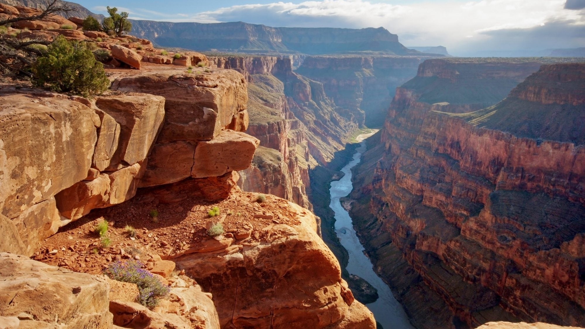 Image of beautiful Grand Canyon views