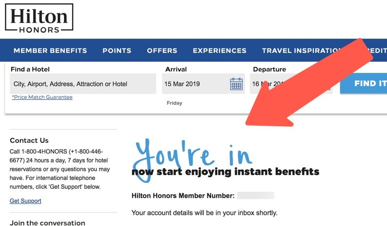 How to Setup a Hilton Account - It Takes All of a Minute
