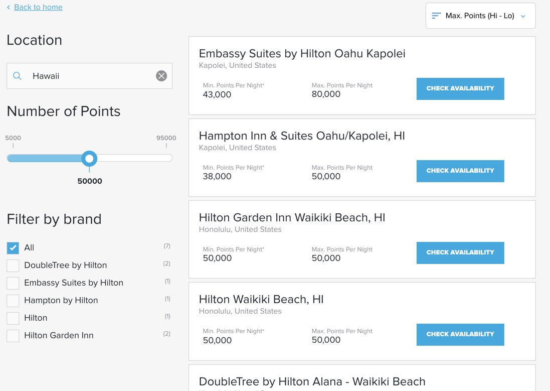 Hilton Launches New Points Explorer – Still Less Useful Than an Award Chart