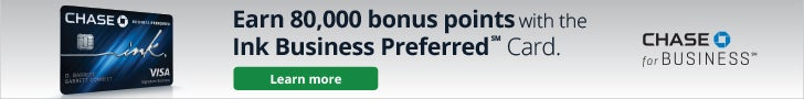 Ink Business Preferred℠ Credit Card - Banner