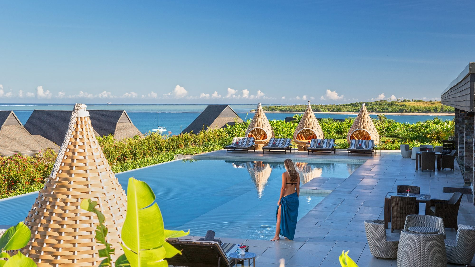The InterContinental Fiji Resort is Just 40,000 IHG Points per Night, Meaning You Could Spend 2 Nights Here For Free With Your Welcome Bonus, Worth ~$700.