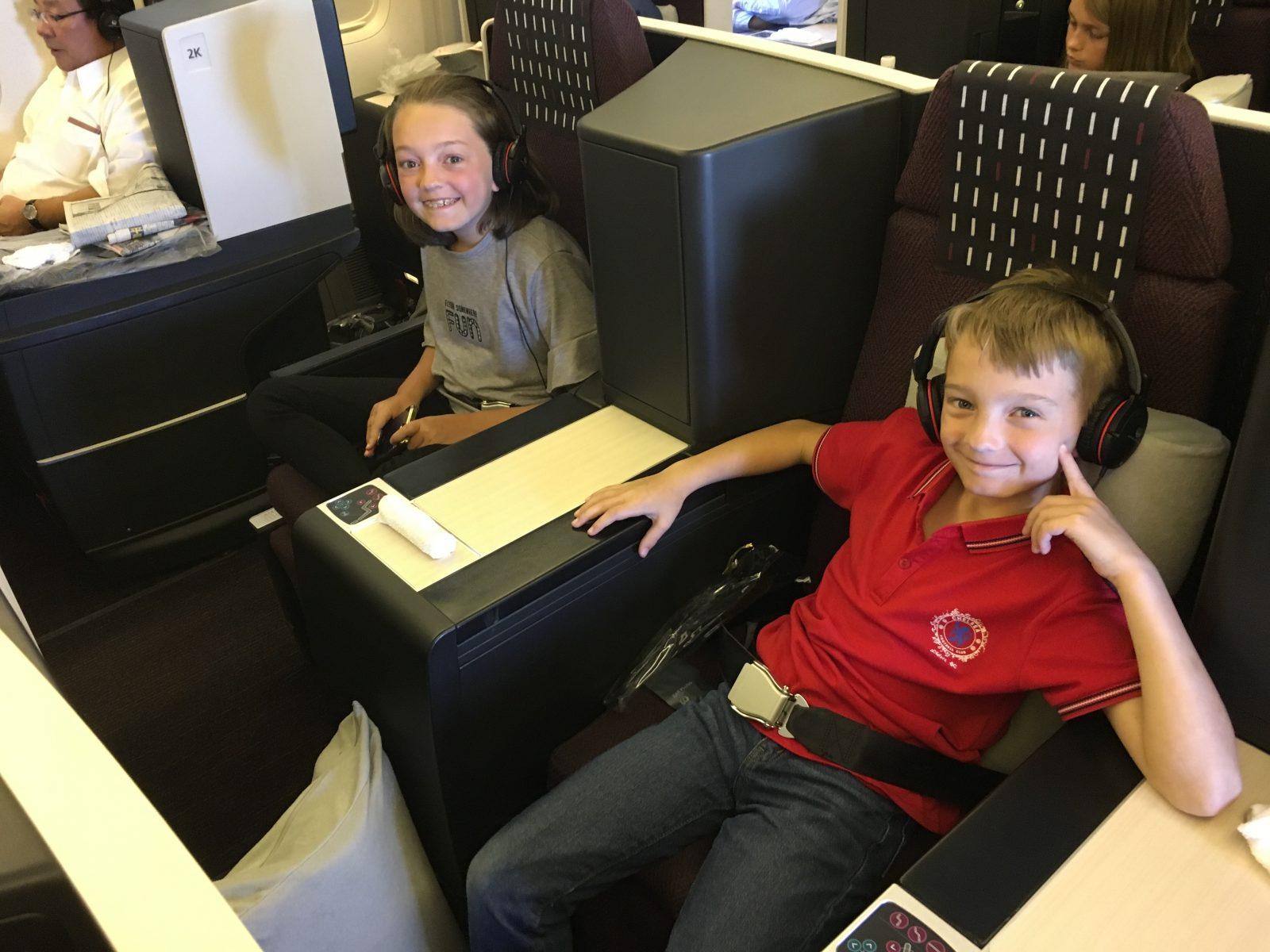 Review:  A Whopping $18,000 in Business Class Flights for 4 on Japan Airlines and Cathay Pacific With American Airlines Miles!