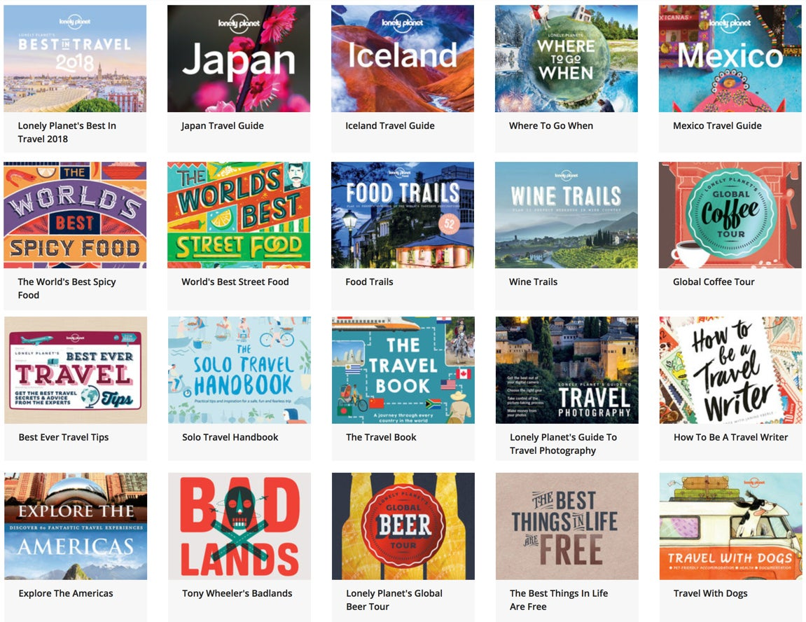 Save 95% Off the Lonely Planet Travel Hacker eBook Bundle (24 Books!)