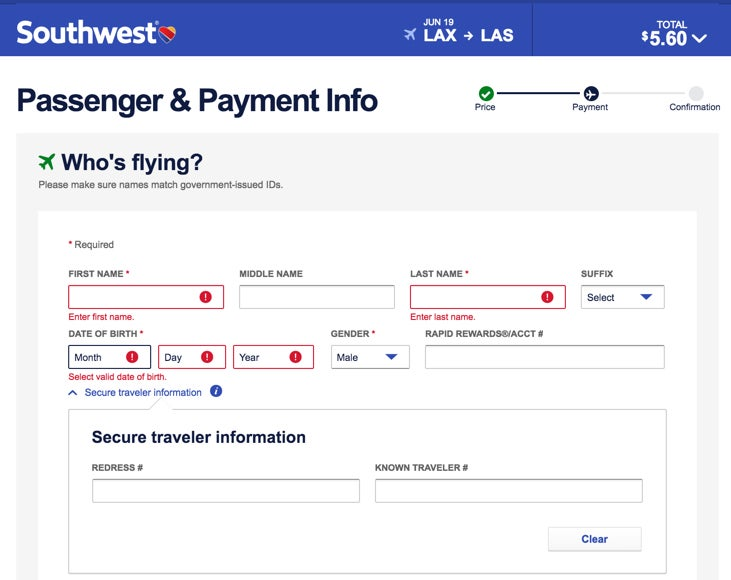 Lesser Known Southwest Booking Trick Ideal If You Have The Companion Pass