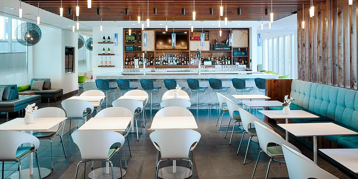 The Philadelphia Centurion Lounge Offers Great Food and Drink Options for Cardholders to Relax and Enjoy