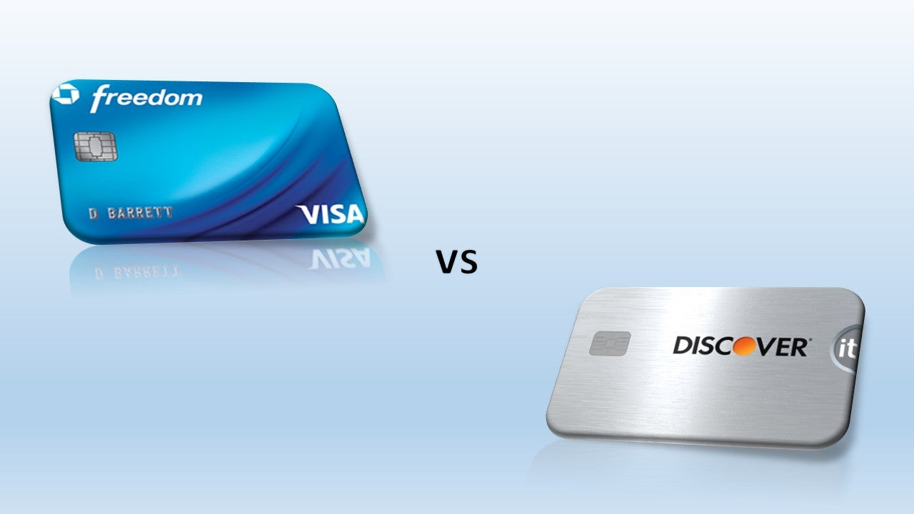 Chase Freedom vs Discover it® Cash Back, Which Is the Right Choice for You?