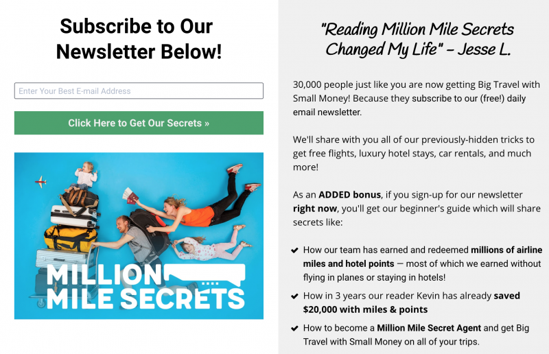 Get FREE Custom Travel Tips Delivered Straight to Your Inbox