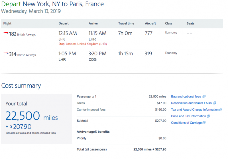 American Airlines Miles Review | Million Mile Secrets