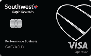 New! Southwest Rapid Rewards® Performance Business Credit Card
