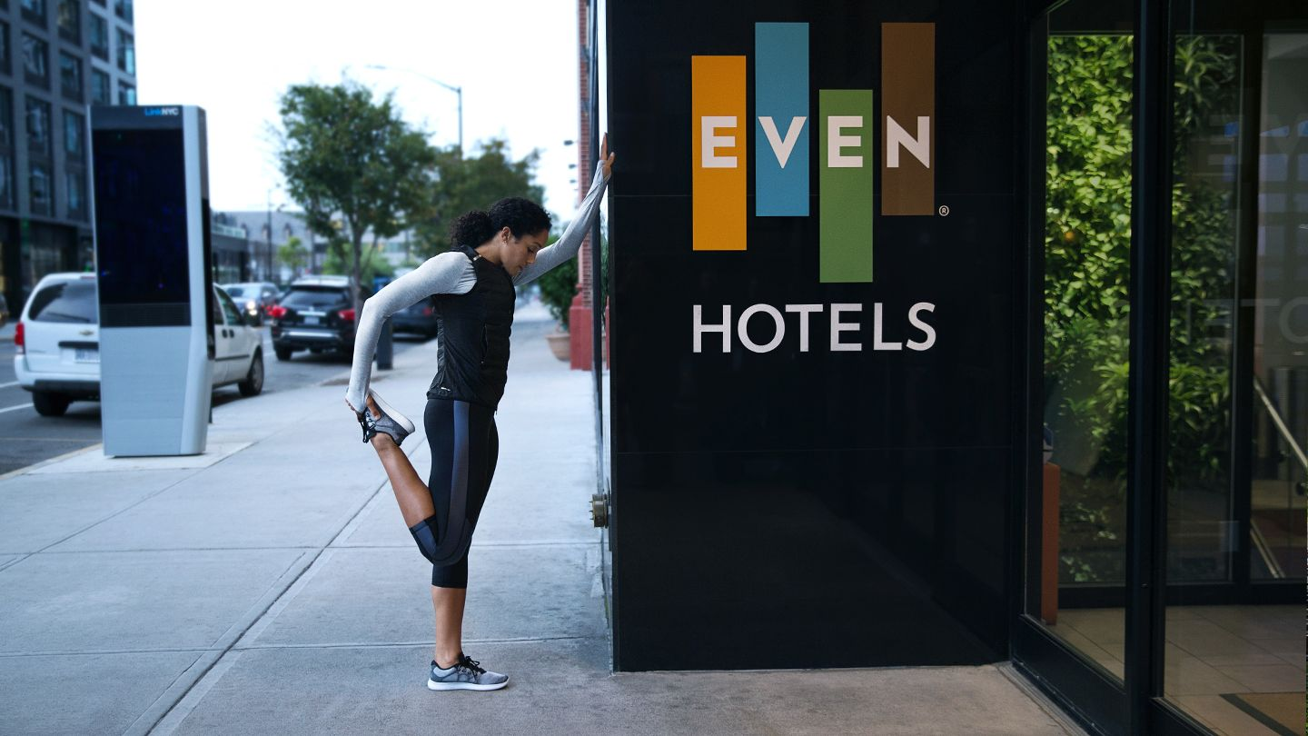 EVEN Hotels is the Destination Hotel for Folks Who Want to Maintain an Active Lifestyle While Traveling.