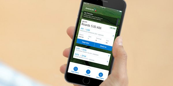 American Airlines Makes Much Needed Improvement to Their Mobile App