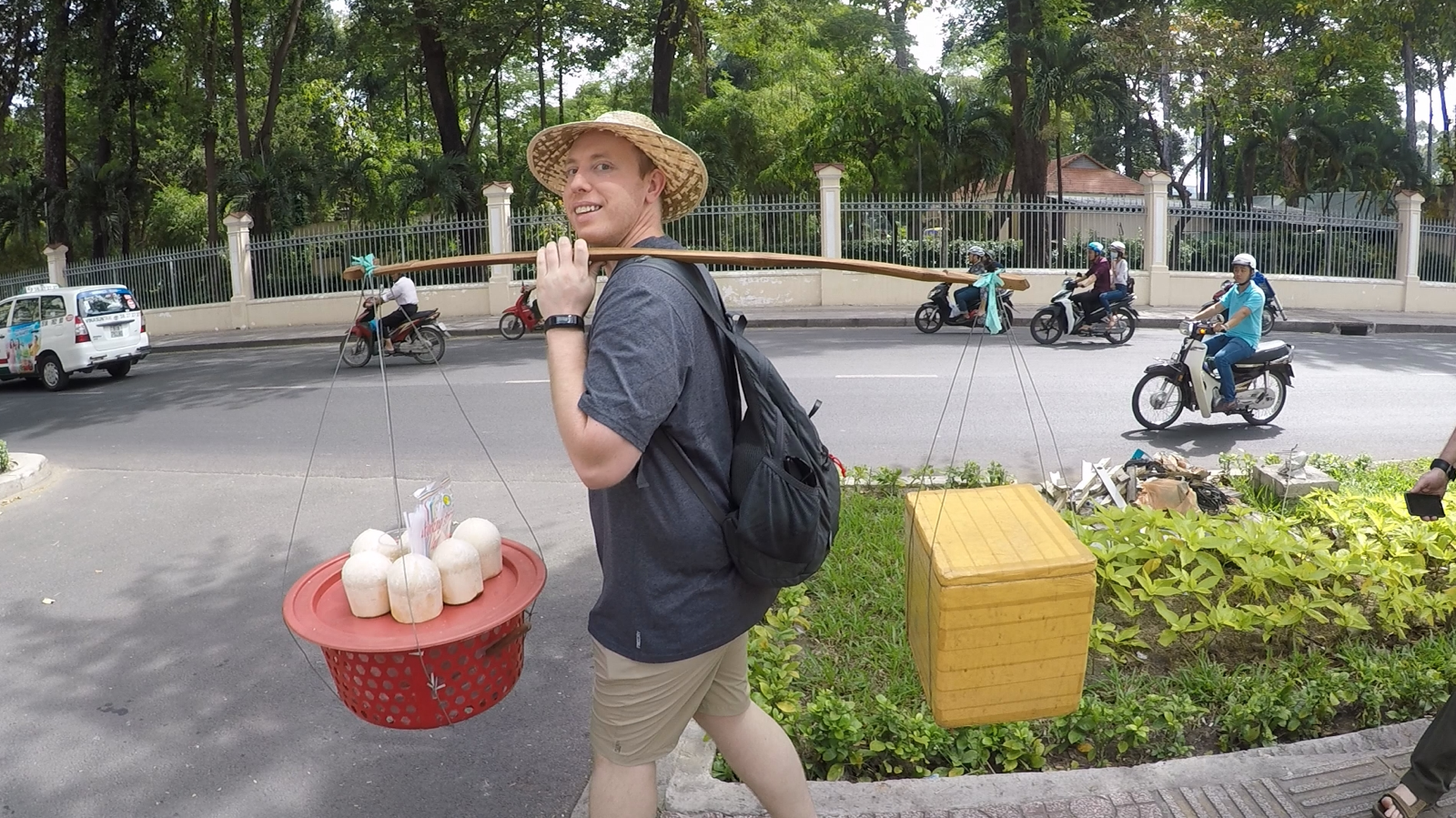 Yep, I Stick our Like a Sore Thumb. The Bustling Streets of Ho Chi Minh and History Filled in This City Made for the Most Unforgettable Trip to Vietnam