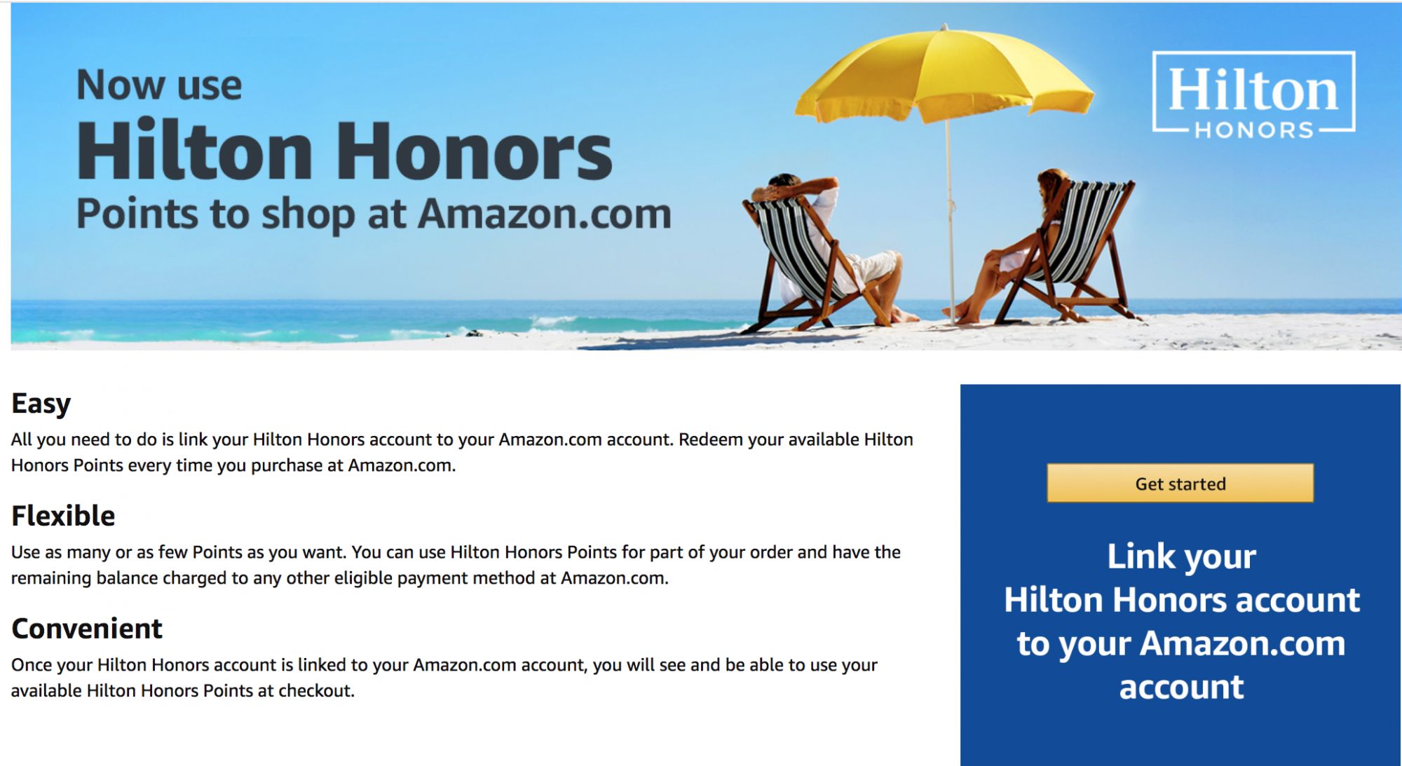 Connect Your Hilton Account to Your Amazon Account to Use Hilton Points for Credit on Amazon.com