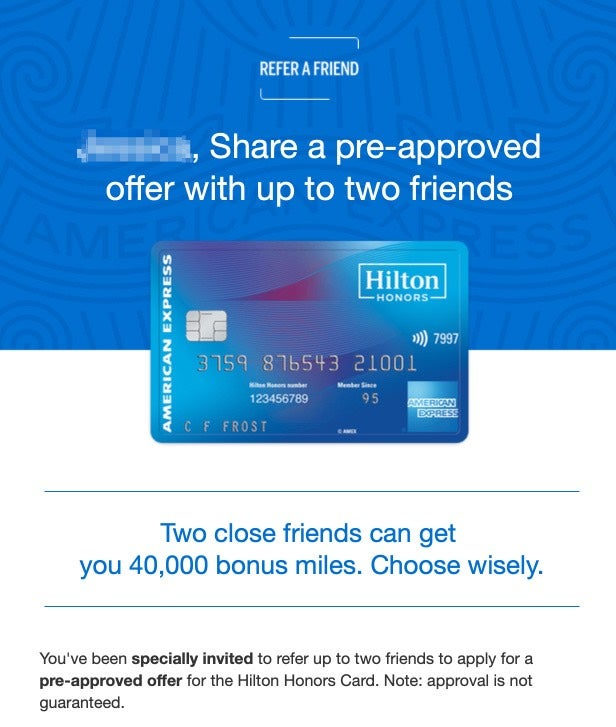 American Express Is Sending Out