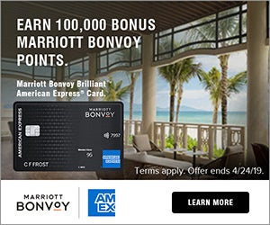 Marriott Bonvoy Brilliant Amex