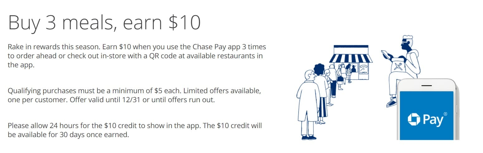Do You Eat Food?  Here's How to Save $$$ at Nearby Restaurants With Chase Pay