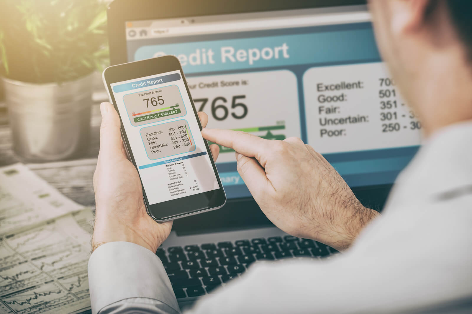 How to build your credit score with the right habits