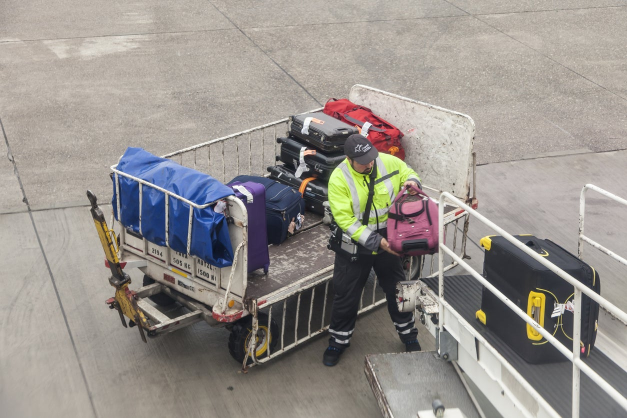 Yet Another Baggage Handler Caught Carelessly Tossing Luggage (Video)