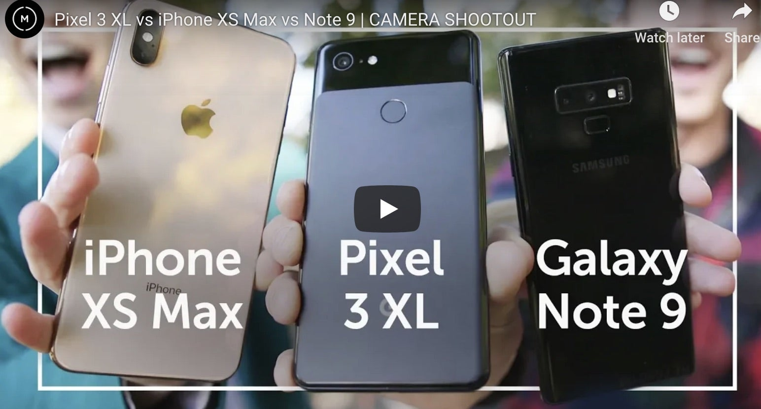 iPhone XS Max vs Samsung Galaxy Note 9 vs Google Pixel 3 XL – The Best Camera for Travel Photography Is Clear