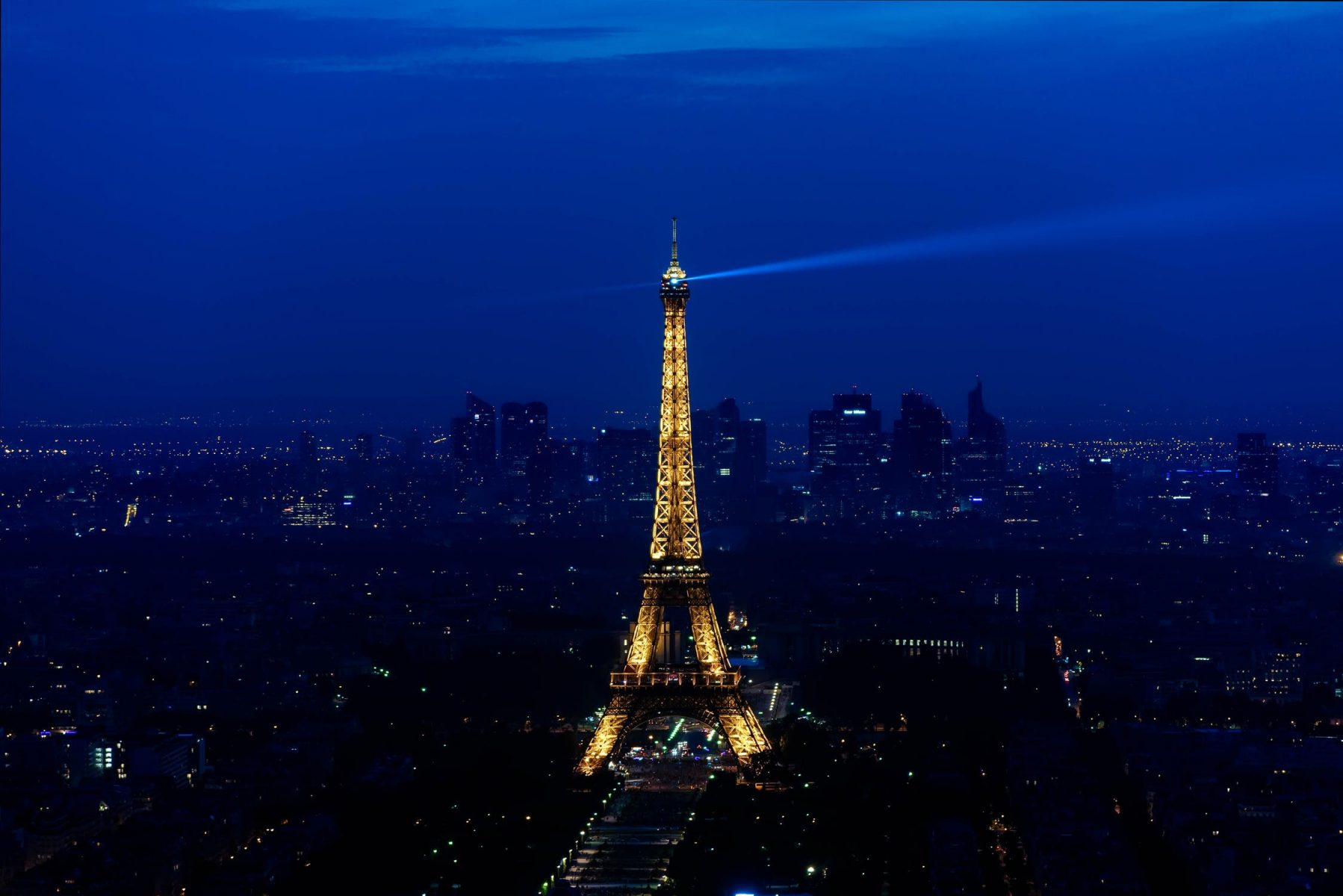 The Eiffel Tower in Paris at Night. See it with your Chase Sapphire credit card