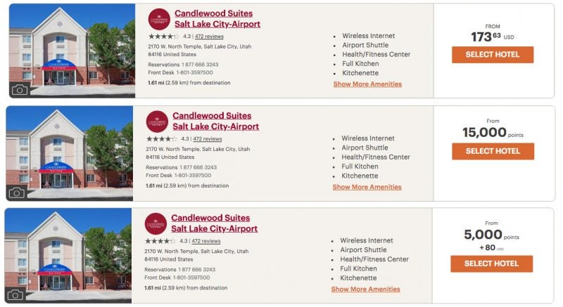 Using Points + Cash we can Save $93 for Just 5,000 Points. This is a Better Per-Point Value Than a Full Award Booking