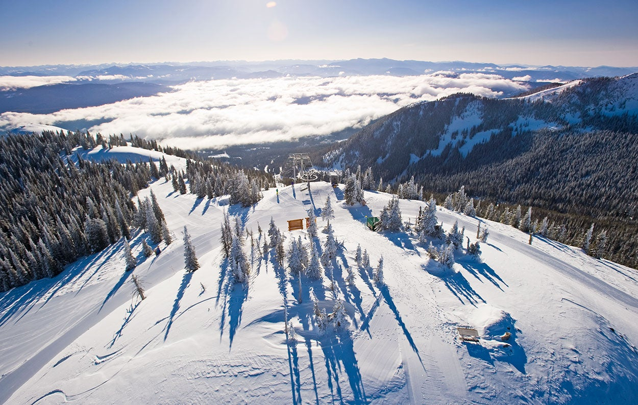 Enjoy the Heights and Views of Canada's Powder Highway at RED Mountain Resort. Just Over the Border from Washington State.