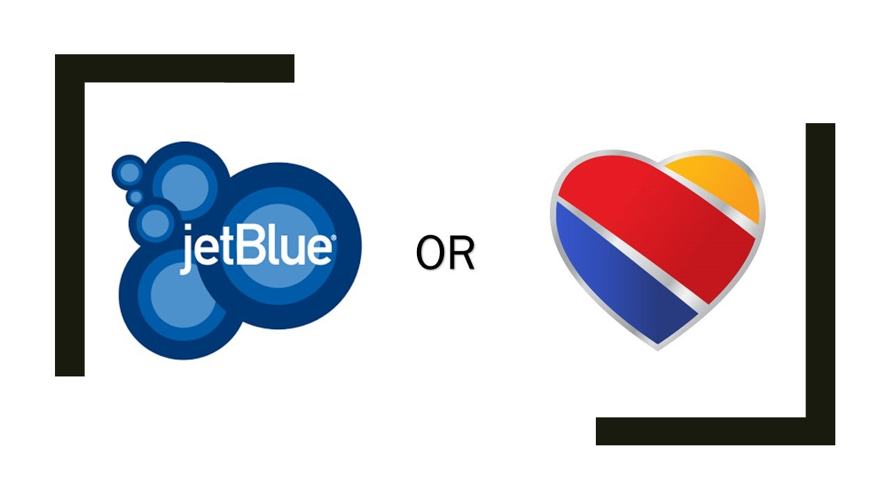 JetBlue or Southwest:  Which Is the Better Chase Ultimate Rewards Partner?