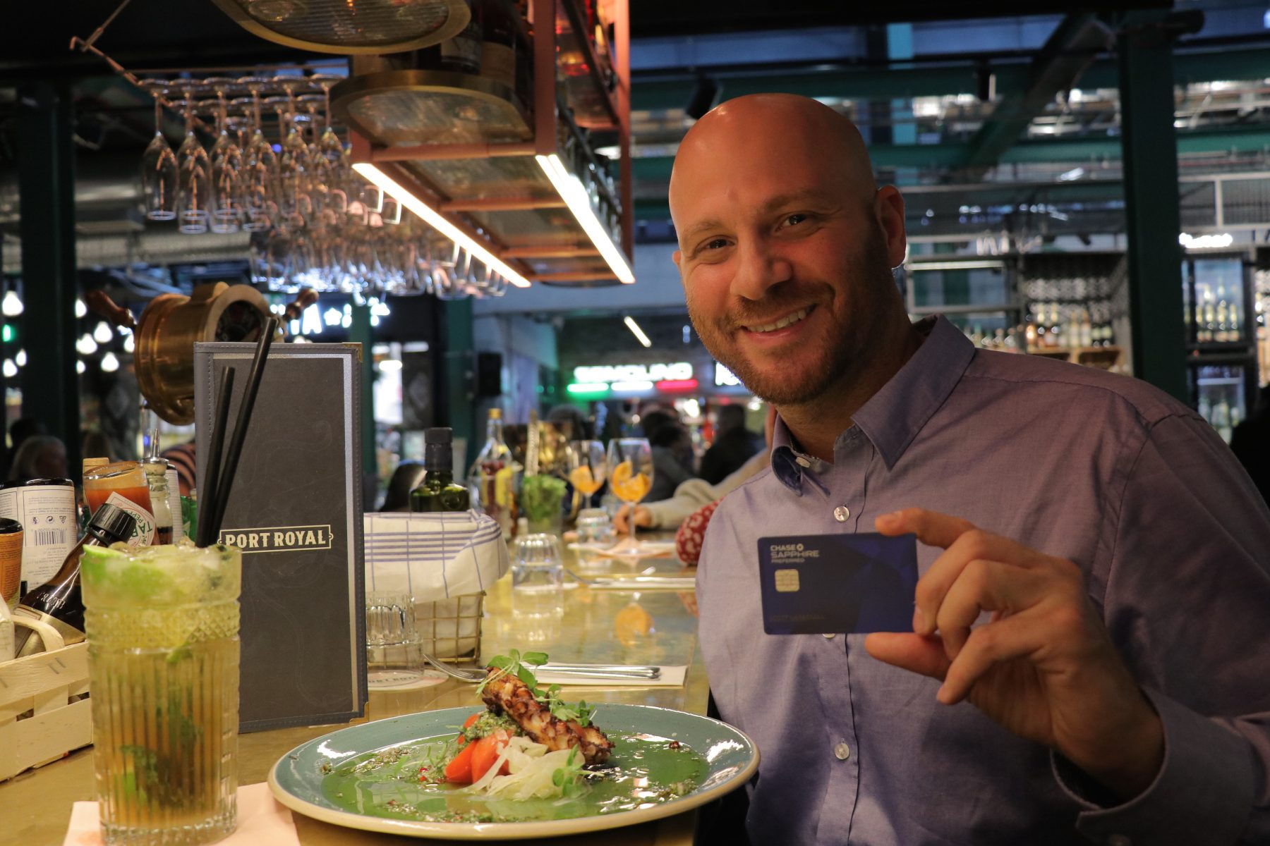 Chase Sapphire Preferred Review - 2X points restaurants