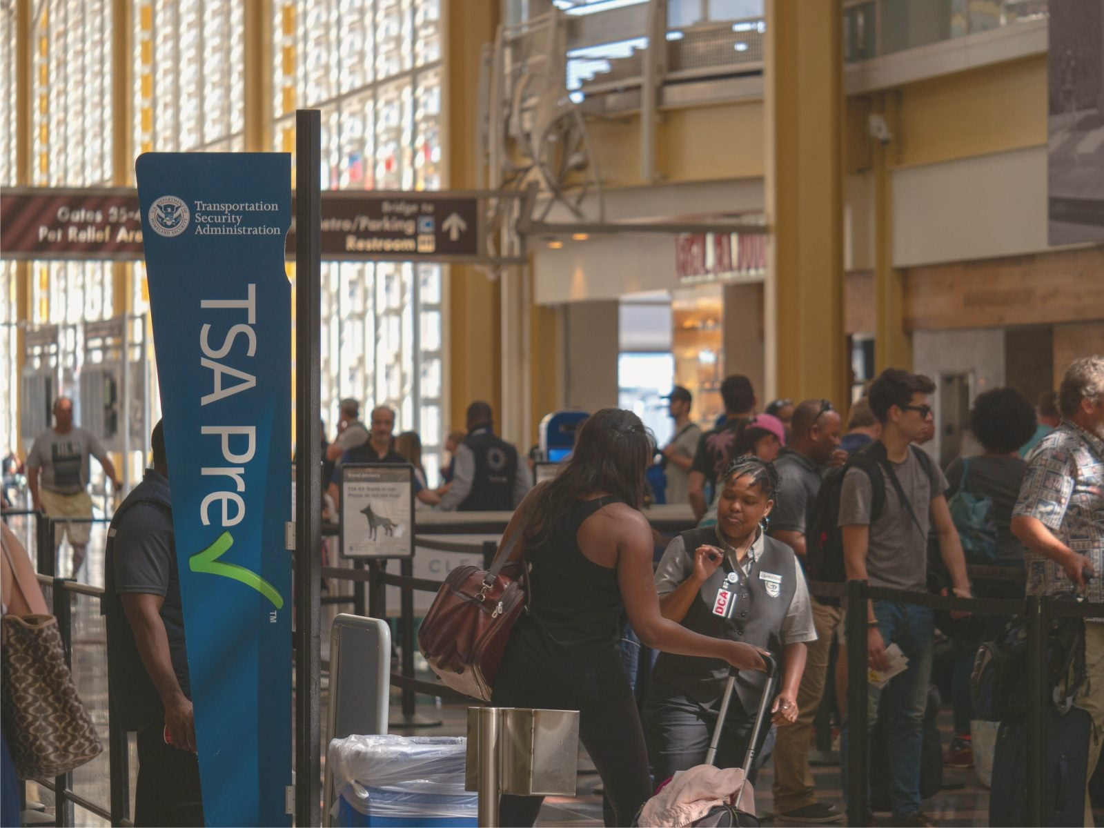 Forward this to your friends in the military right now: The secret to free TSA PreCheck!