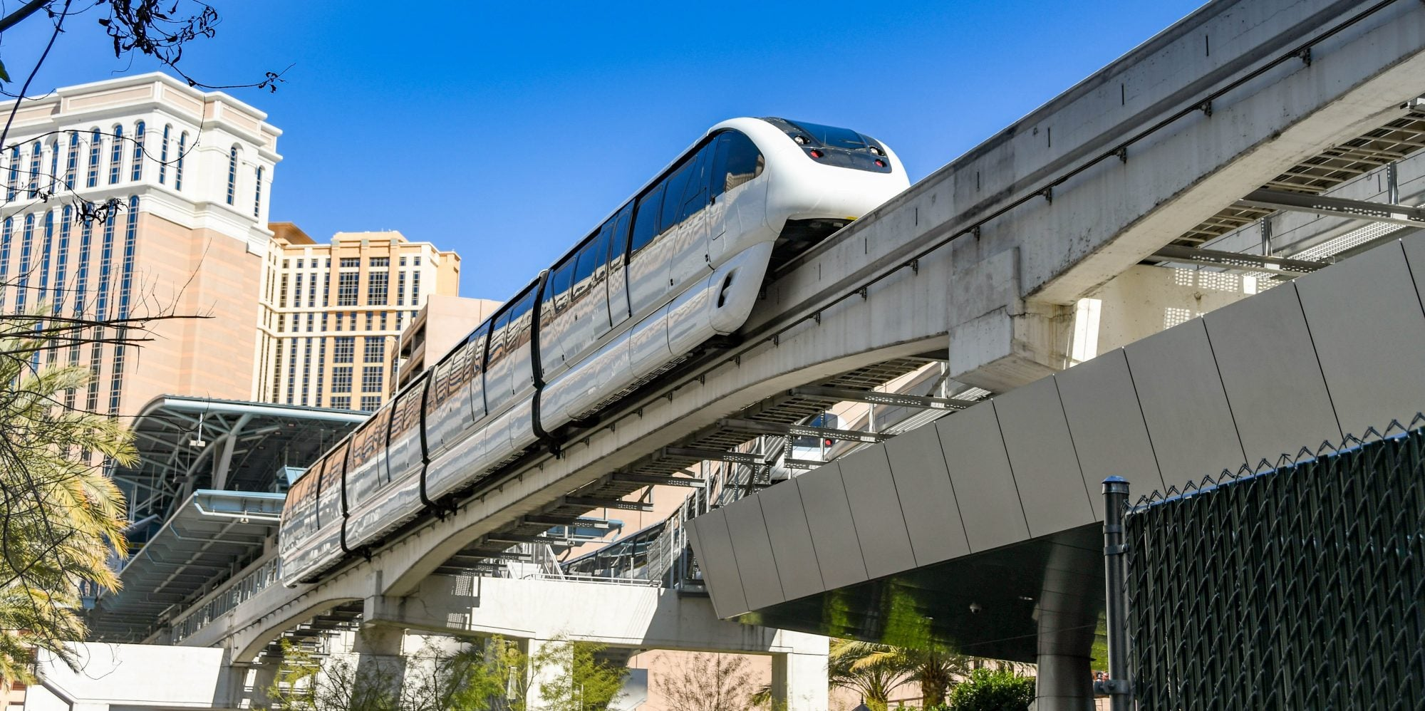 Monorail in las vegas