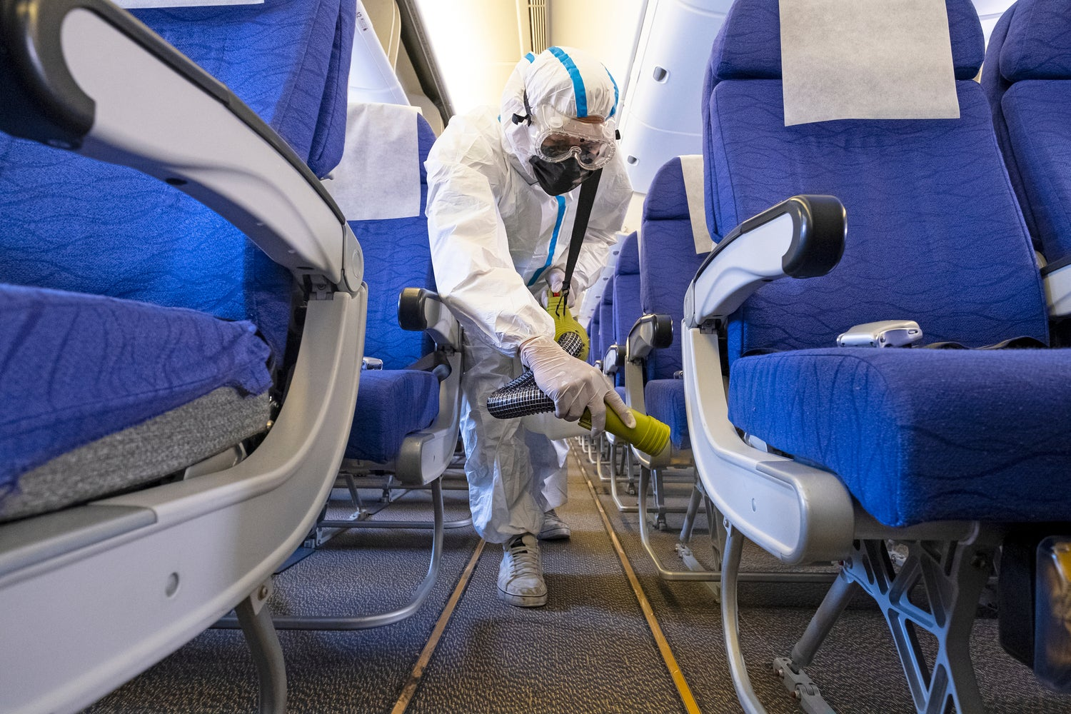 Which airlines are taking the most precautions against COVID-19?