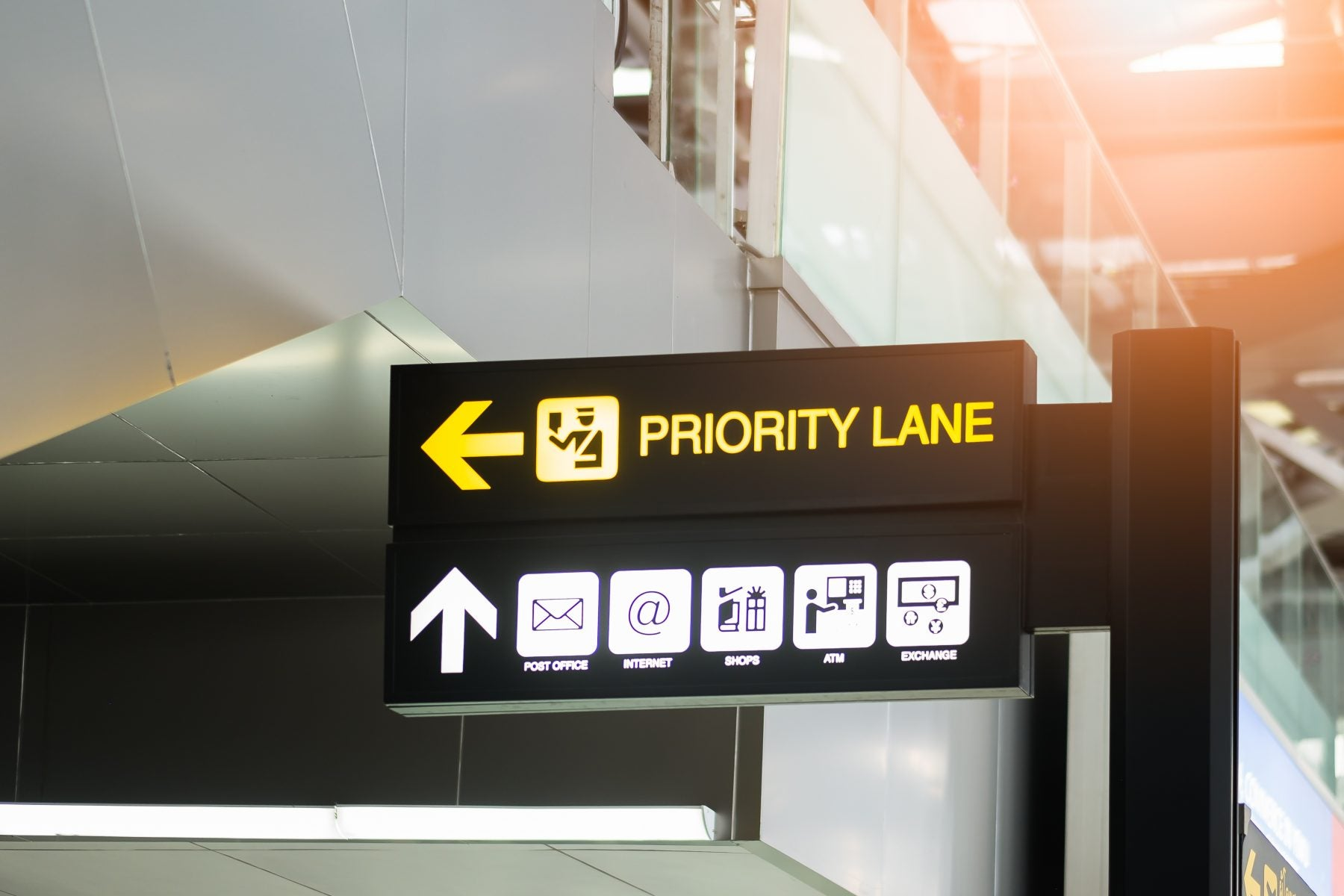 Priority Pass at Airport