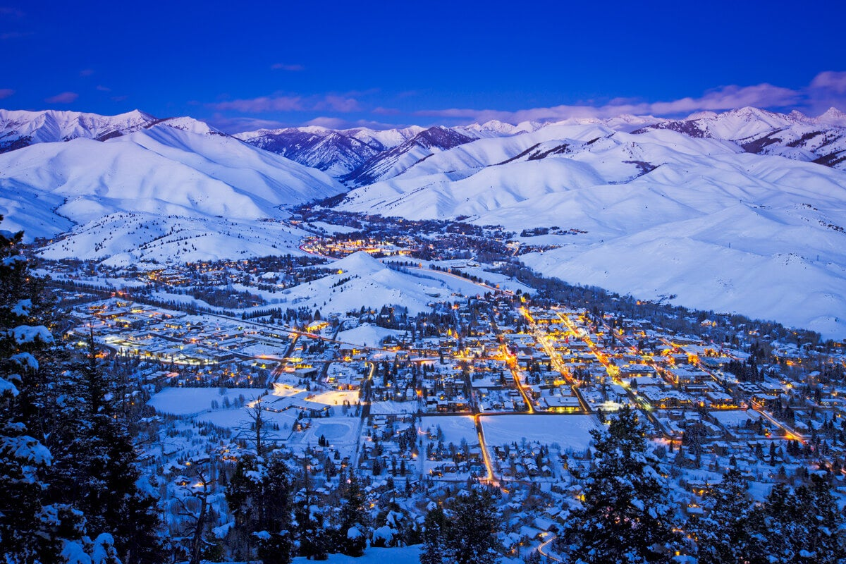 Check Out The Gorgeous Powder Mountains Just Minutes From a Beautiful Culture-Rich Sun Valley City in South-Central Idaho