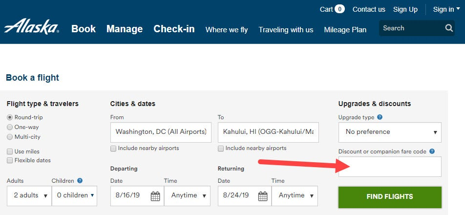 My Alaska Airlines Companion Fare Was Worth 900