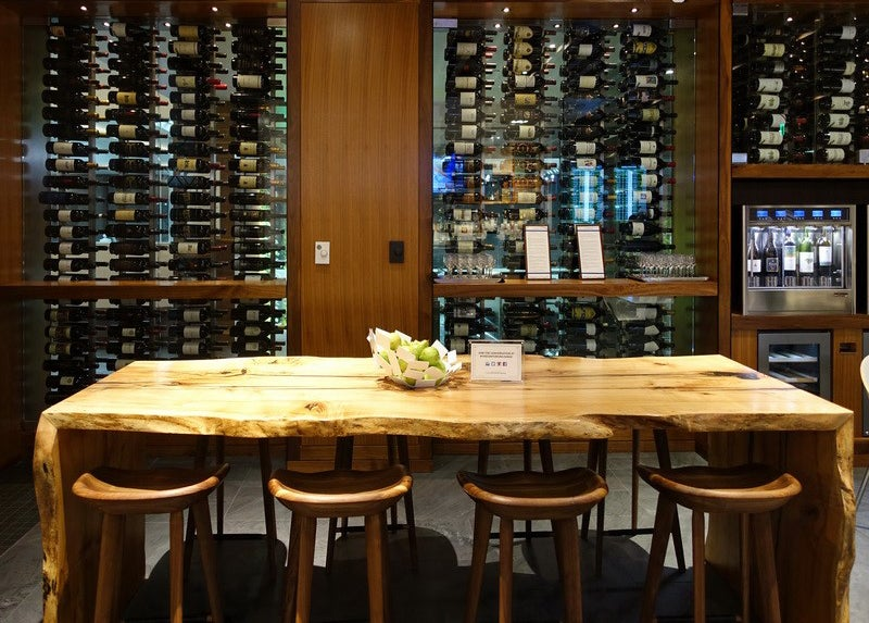 While in San Francisco, Be Sure to Stop at The Centurion Lounge and try the Truly Unique Napa Valley Wine Tasting Area to Test Local Area Wines