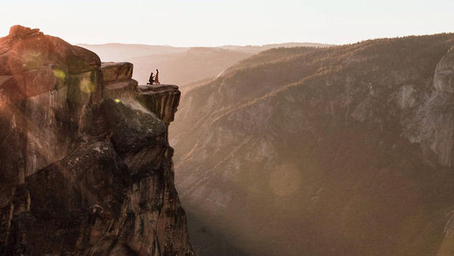 Photographer Asks for Help Finding Couple in Majestic Yosemite National Park Engagement Photo